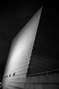 Minimalistická fotografie architektury