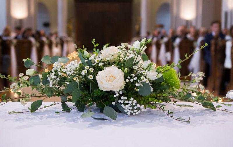 Svatební kytice - detail