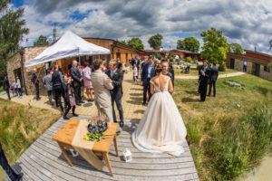 Svatba pod širým nebem. Foto Ondřej Littera Hradec Králové